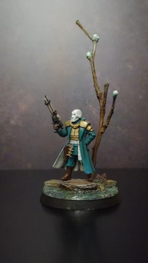 Radical inquisitor Vicard Rayliss